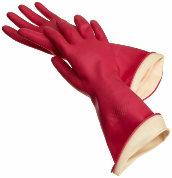 Casabella Premium WaterBlock Latex Dishwashing Gloves - Small, Medium or Large