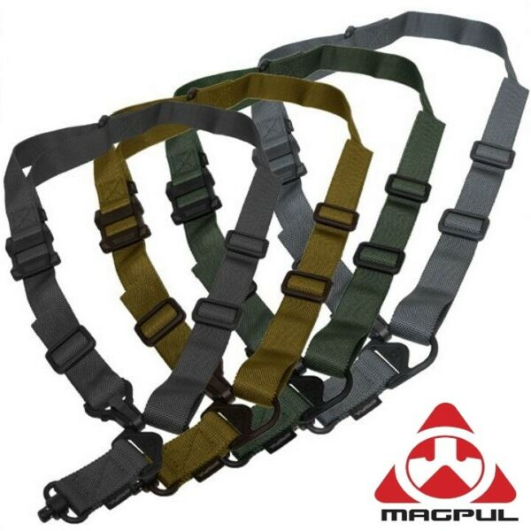 Magpul MS3 Single QD GEN2 Multi Mission Sling MAG515 Black Coyote Green Gray