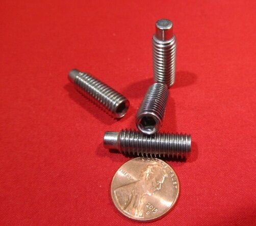 Stainless Dog Point Set Screws Extended Tip M8 x 1.25 x 25mm Length 10 Pcs $28.98