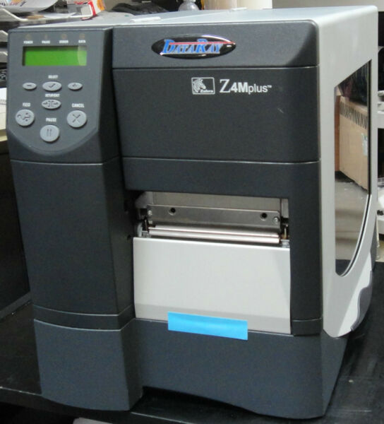 Zebra Z4M Plus Direct ThermalThermal Transfer Label Printer DataRay - Z4M Plus