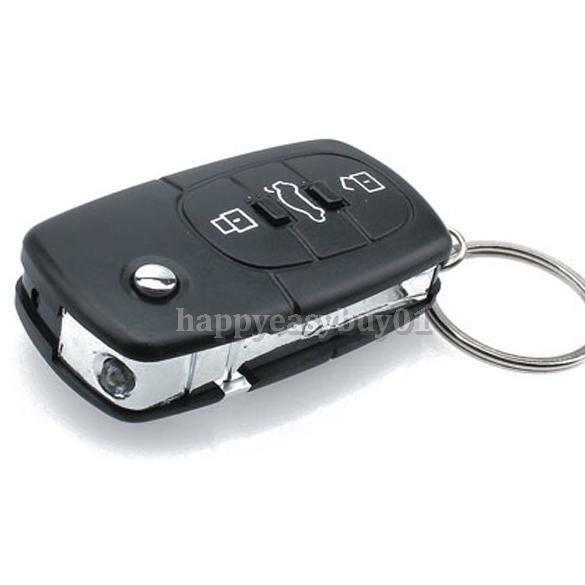 hot Electric Shock Gag Car Remote Key Chain Ring Funny Trick Joke Prank Toy GIFT