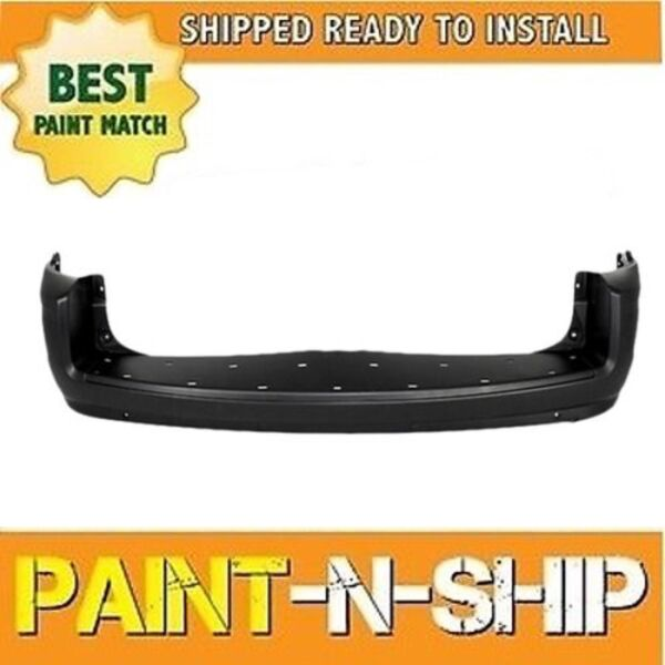 NEW Fits: 2008 2009 2010 Chrysler Town & Country wSnsrs Rear bumper Painted