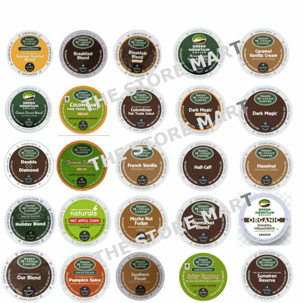K-Cup Green Mountain Coffee For K-CUPS Keurig Brewers; Free Shipping