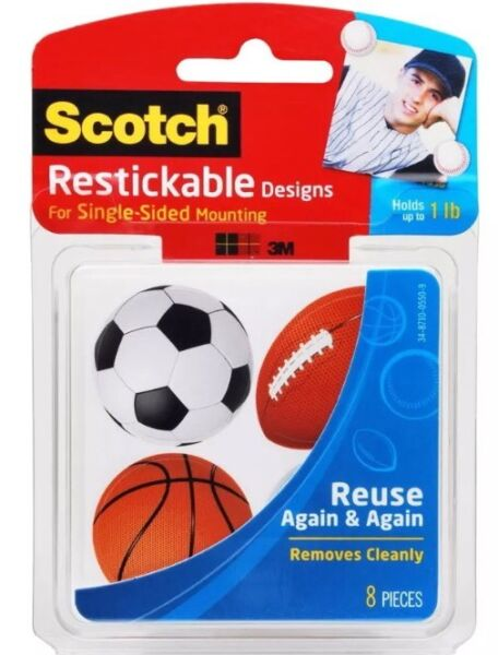Scotch Restickable Designs Sports R106 SPORTS