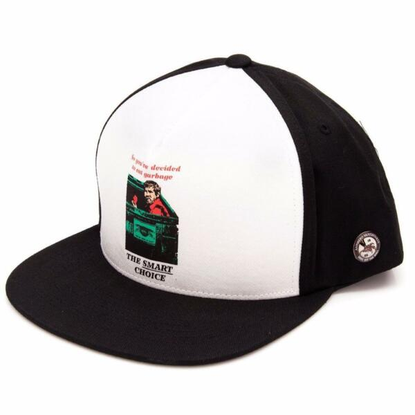 Vans Off The Wall x Anti Hero Eat Garbage 100% Cotton Snapback Hat Cap New NWT $22.95