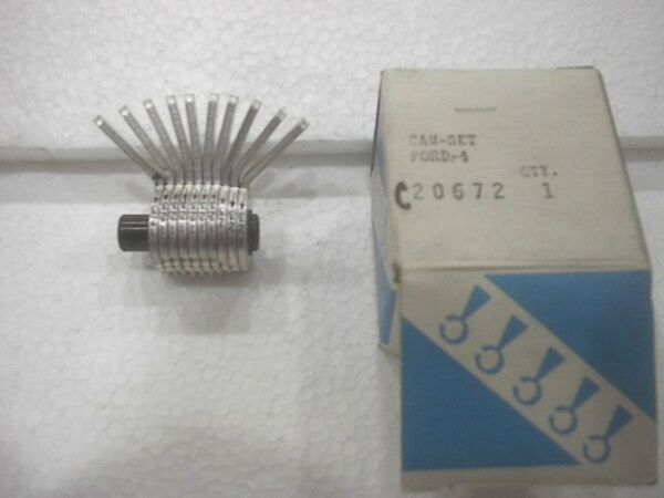 NEW Curtis Code Cutter # 15  Cam Set  Ford-4 NEW C20672