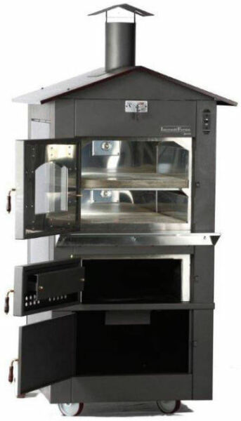 IncendiForno WO-IT-0620-L Italian Wood-burning Pizza Oven Stove wRoof (LARGE)