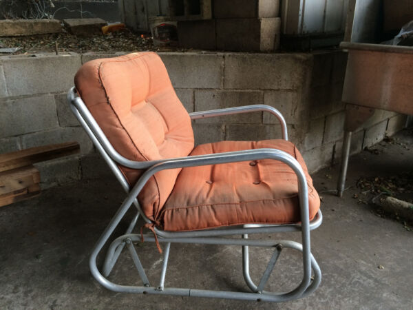 Vintage swing patio chairs $250.00
