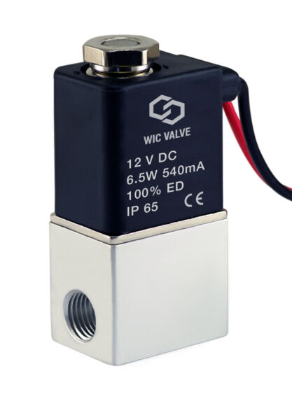 Direct Acting Fast Response Electric Air Water Solenoid Valve 18