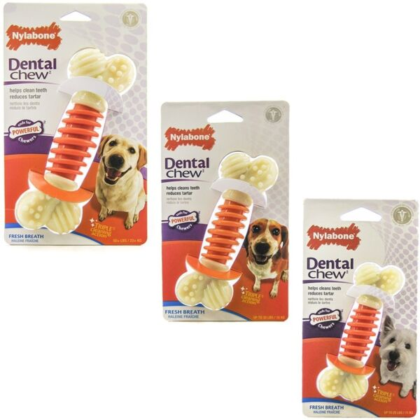 Nylabone Dental Pro Action Chew Bacon Free Shipping  $7.95