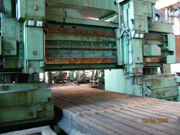 Plano Milling and drilling machine LINE SL 236 NU CNC. Table: 3000x16000mm