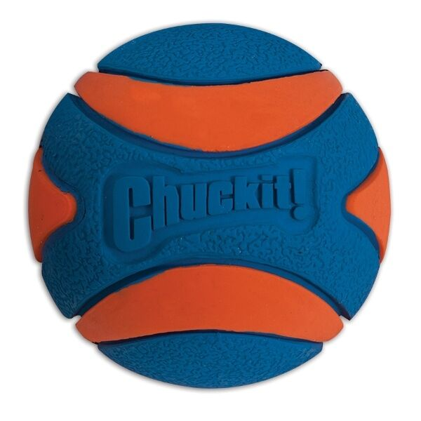 Chuckit! Ultra Squeaker Ball Durable Rubber Fetch Floating Dog Toy Fits Launcher $4.29