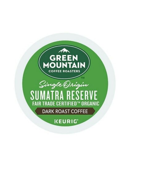 336 K-cups GREEN MOUNTAIN SUMATRAN RESERVE EXTRA BOLD COFFEE
