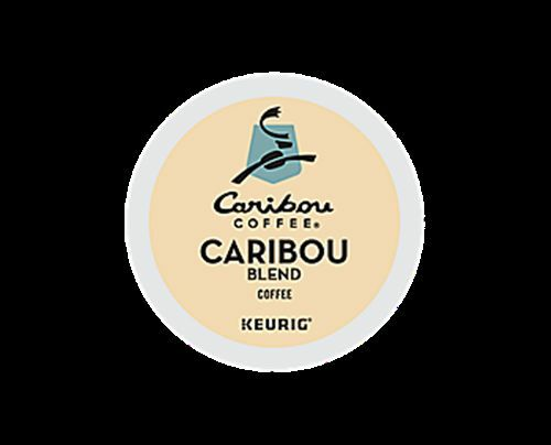 336 K-cups CARIBOU COFFEE CARIBOU BLEND COFFEE