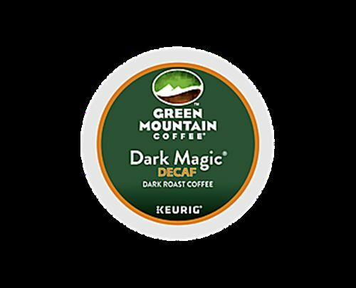 288  K-cups GREEN MOUNTAIN DARK MAGIC DECAF EXTRA BOLD COFFEE