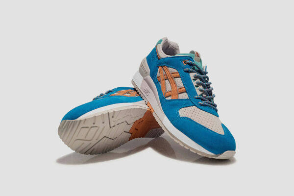Asics x Patta Gel Respector Beige Orange kith fieg H60UK-0509