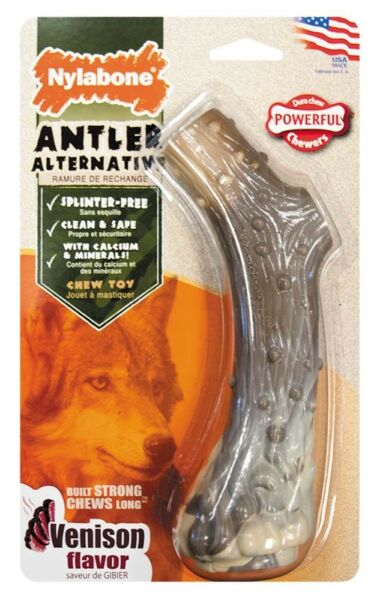Nylabone Dura Chew Antler Alternative Dog Chew Toy Free Shipping $8.95