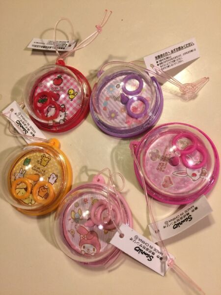 Sanrio Trinkets Variety Of Characters Ring Game Complete Set