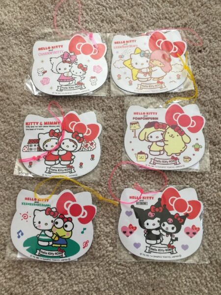 Sanrio Trinkets Variety Characters Magnet Complete Set