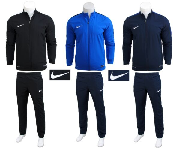 NIKE ACADEMY 16 WOVEN HEREN MEN TRAININGSANZUG SPORTANZUG JOGGINGANZUG FOOTBALL