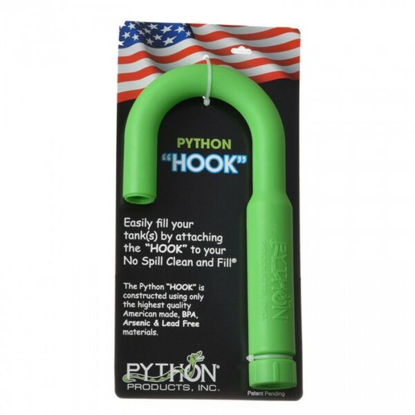 Python Hook for No Spill Clean and Fill Free Shipping in USA $20.95