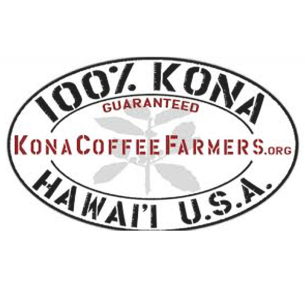 Dark Roasted Kona Coffee Beans 100% Hawaiian Whole Bean Coffee 2 - 1 Pounds Bags