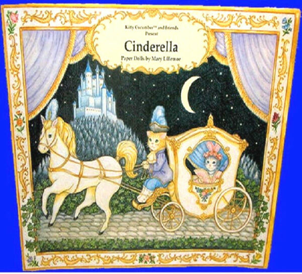 Kitty Cucumber CINDERELLA PAPER DOLL BOOK MINT NEW UNCUT Ebay BEST PRICEQUALITY