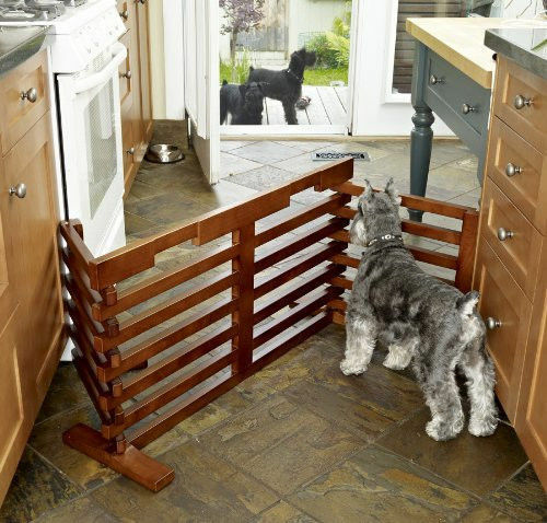Merry Pet Dog Gate-n-Crate for Small to Medium Size Dogs Extends to 6 ft MPS009