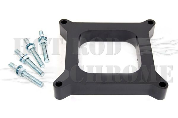 1quot; Carburetor Spacer Kit Holley Open Port Phenolic Plastic Stud Kit Included $18.95