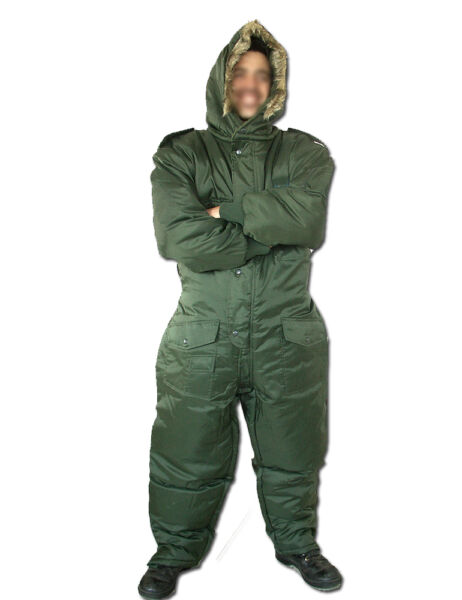 Israeli Army IDF Extreme Cold Weather Boiler suit work wear Coverall - Hermonit