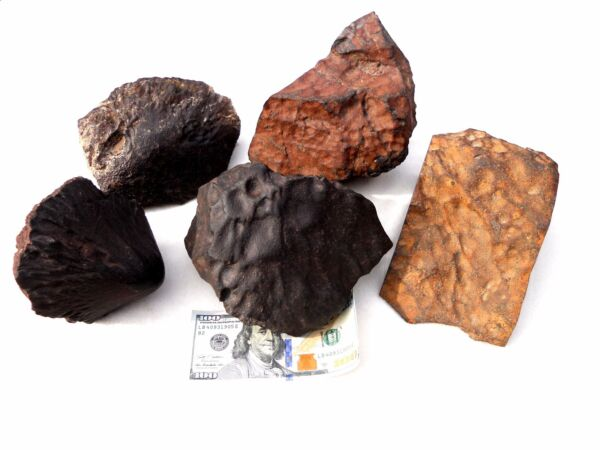 WORLD CLASS METEORITE COLLECTION ORIENTED BOB HAAG CATALOG PIECES