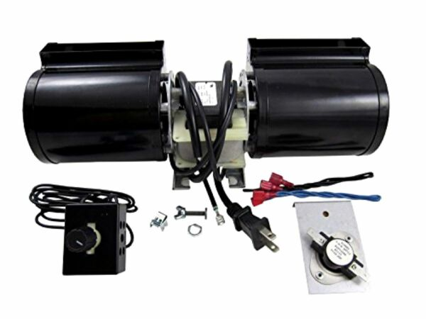 Fireplace Blower Kit Fan Replacement Gas Rotom Universal Stove Wood Burning NEW