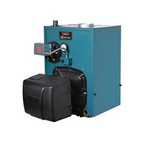Burnham PV8H4WT-TBWF WaterSteam Oil Fired Boiler 1.35 gph 141 MBH