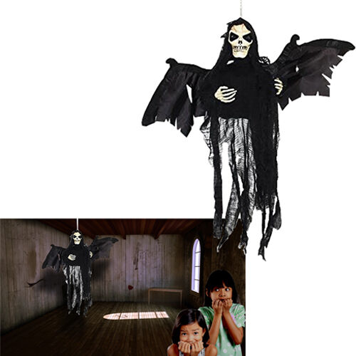 Dazzling Toys Hanging Floating Skeleton Ghost Halloween Decoration Shaking Ghost