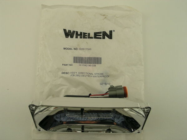 Whelen DIRECTWD Linear StrobeReflector Module for Models 9404 and 9406