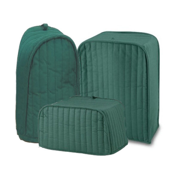 Ritz Quilted Solid Hunter Green Appliance Cover RITZ Polyester / Cotton Quilted