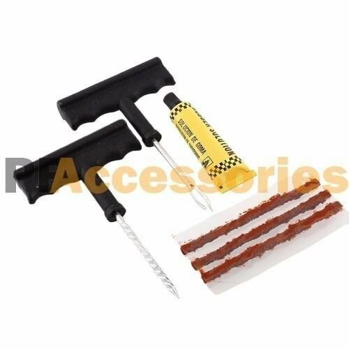 6 Pcs Car Flat Tire Repair Plug Kit for Car Truck Motorcycle DIY Patch Tubeless