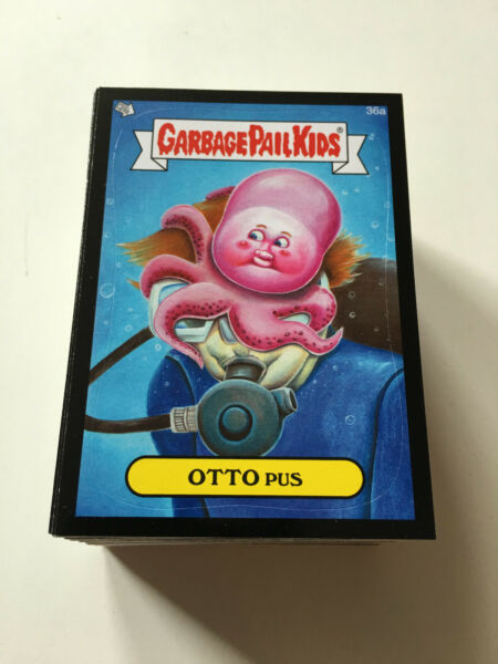 2014 Garbage Pail Kids Series 1 Black Cards - 36ab-66ab - Pick Your Own!