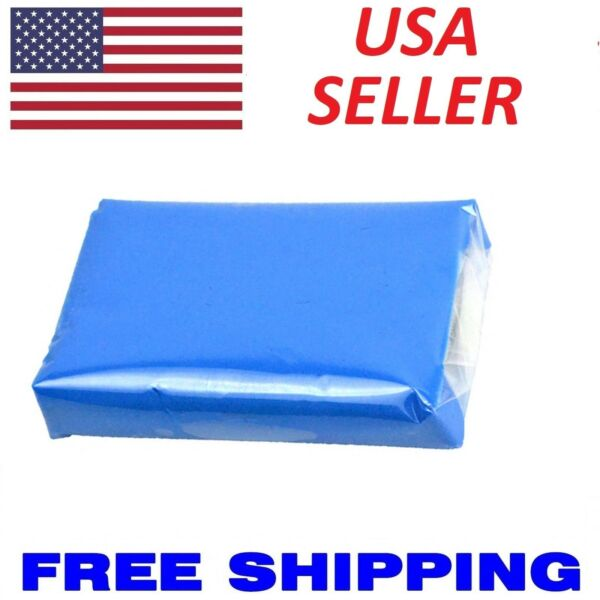 180g Blue Magic Auto Car Clean Clay Bar Detailing Wash Cleaner Sludge Mud Remove