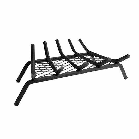 27 x 15 Heavy Duty G200 Series Steel 6-Bar Fireplace Grate