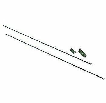 Fireplace Curtain Rod Kit 32quot; To 58quot; Long