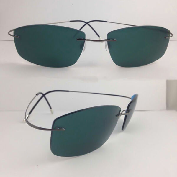 New β-Titanium Men Polarized Lens Sunglasses Outdoor Fishing Driving Sun Glasses