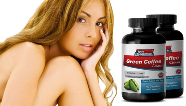Lose Weight Fast - Green Coffee Bean Extract 400mg - Green Coffee Supplement 2B