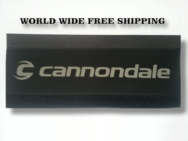 27.5er CANNONDALE Bike Chain Protector Pad Wrap Frame Protection Cover Black $9.99