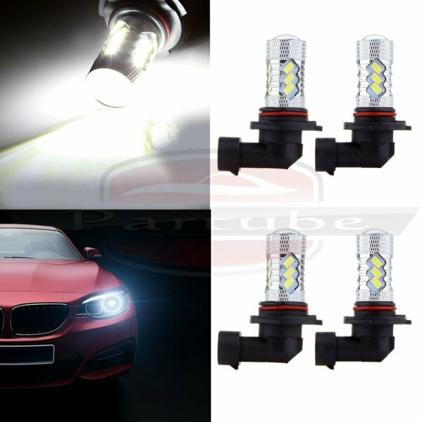 9005XS+9006XS 6000K White Cree LED 15 5730 SMD Headlight 60W 6000LM US Fast