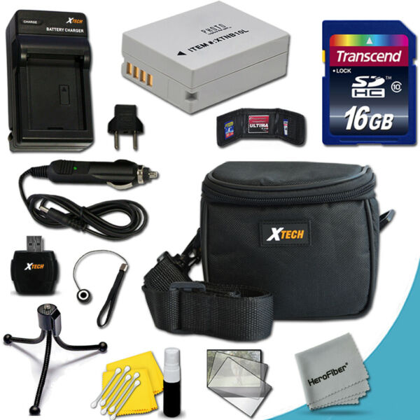Ideal Accessory Kit for Canon Powershot SX50 HS, SX40 HS, G1 X, G15, G16 Cameras