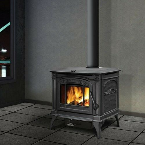 Napoleon Wood Burning Stove Cast Iron 1400C Cook top EPA WITH BLOWER! AND HEARTH