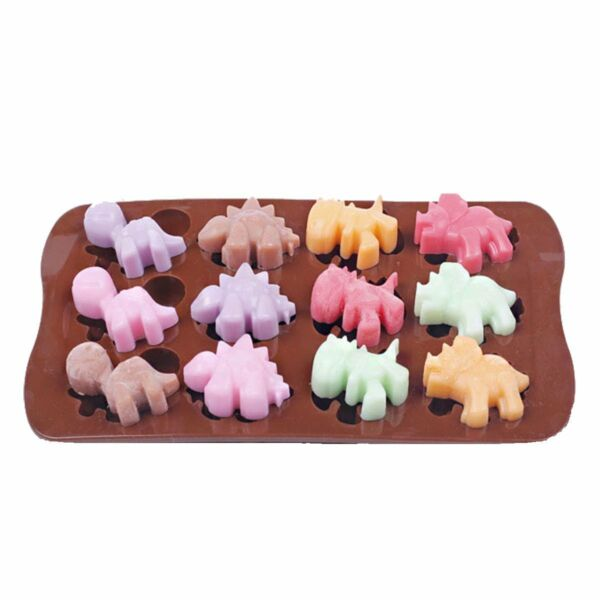 Silicone Mold Chocolate Ice Cube Tray Fondant Molds DIY SOAP Mould Jello Candy $5.99