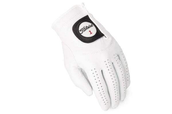 New Titleist Players Glove LH Glove ( For RH Swinger) Color: Pearl