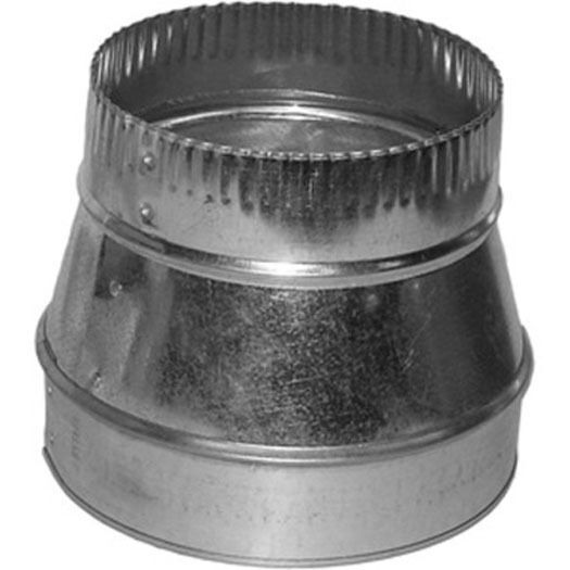 6x4 Round Duct Reducer 6quot; to 4quot; Adapter